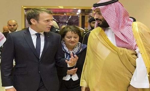 امانوئل مکرون خطاب به ولیعهد سعودی بر اهمیت ثبات و حاکمیت لبنان تاکید کرد