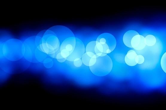 نور آبی