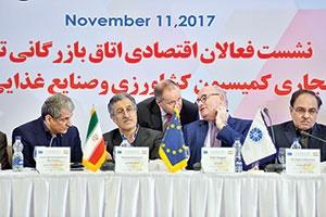 همایش مشترک فعالان اقتصادی ایران با هیات اروپایی دیروز برگزار شد.