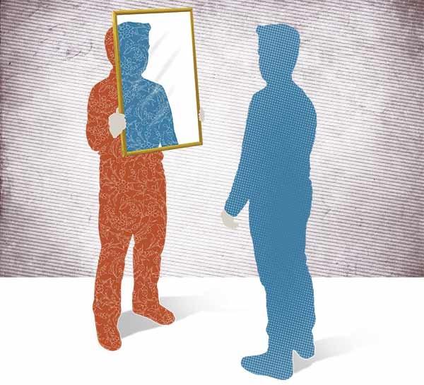 آینهای در برابر آینهات میگذارم