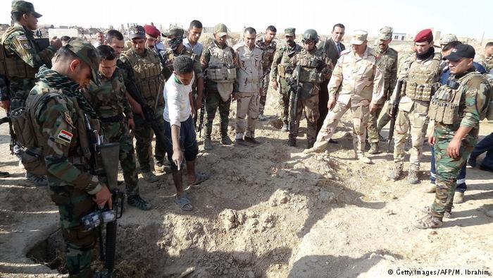 کشف صدها جسد در مناطق تحت کنترل داعش در عراق