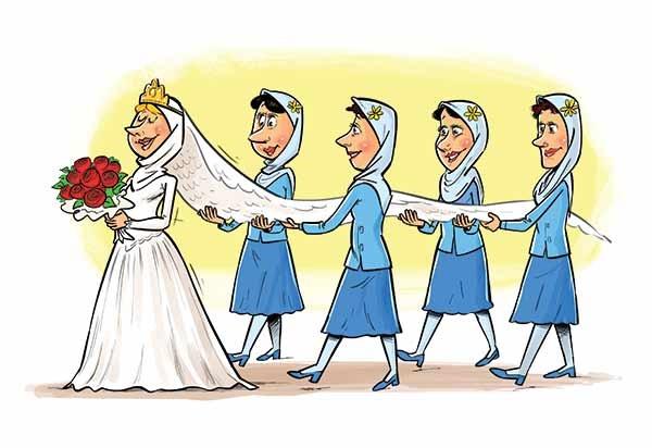 «پرنسس»ها پدیده نوظهور عروسیها