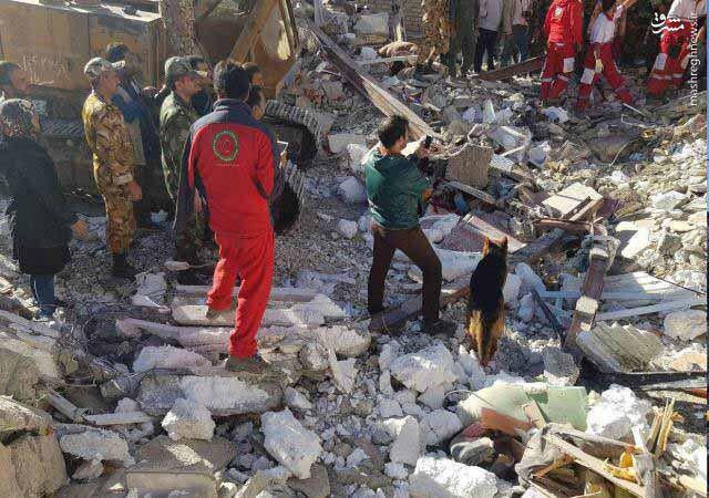 بیمها و امیدهای زلزله کرمانشاه در قاب تصویر