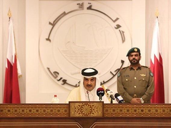 امیر قطر: کشورهای محاصره کننده به دنبال تسلیم دوحه هستند
