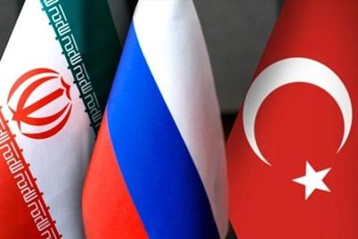 روسیه، ترکیه و ایران
