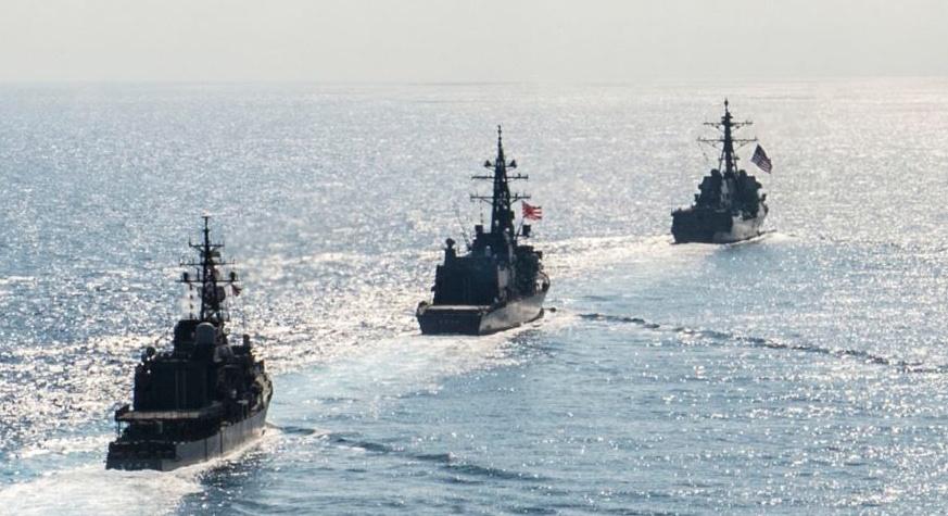 us japan navy