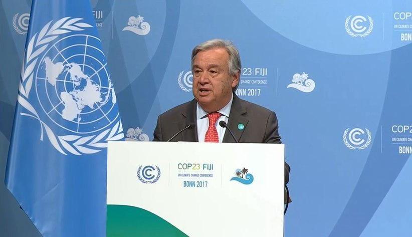 تغییرات اقلیمی تهدیدی برای جهان است