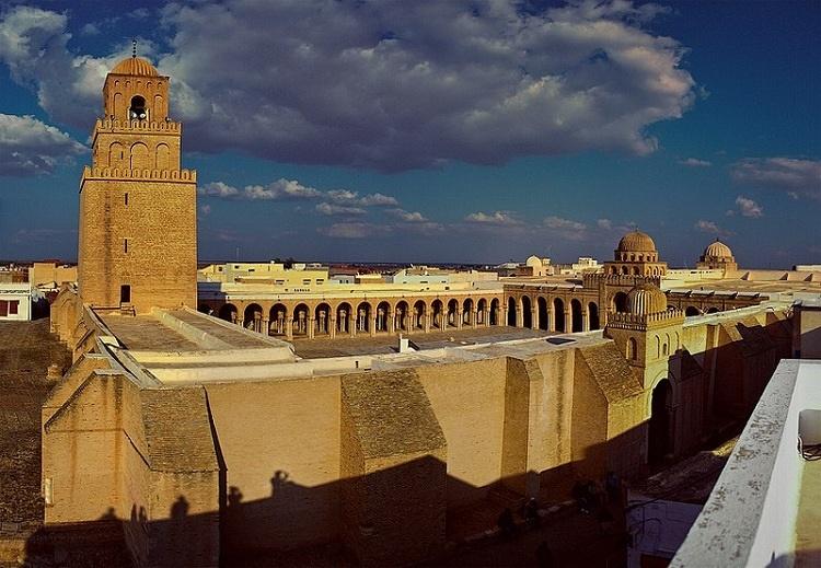 مسجد جامع قیروان در تونس