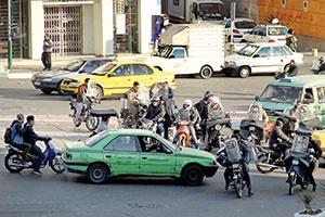 فاجعه موتورسیکلتها در تهران ۱۴۰۰