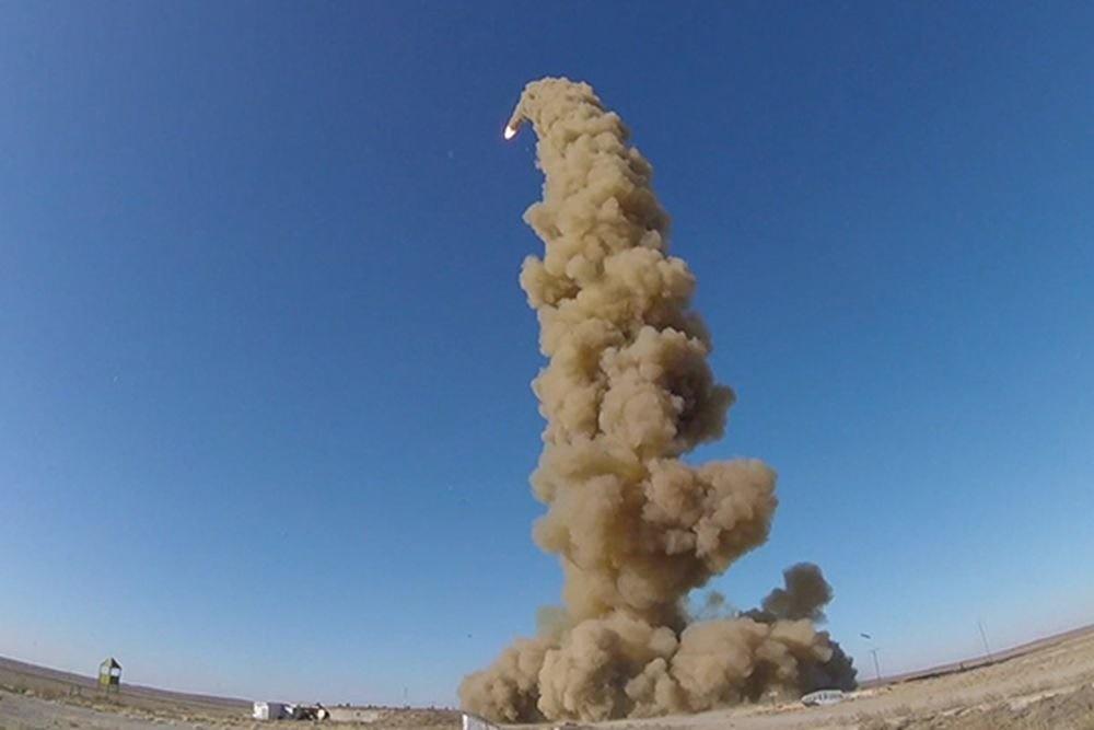روسیه موشک جدید ویژه سامانه پدافند موشکی آزمایش کرد