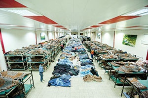 شب گرم ۳۲۰۰ بیخانمان در تهران
