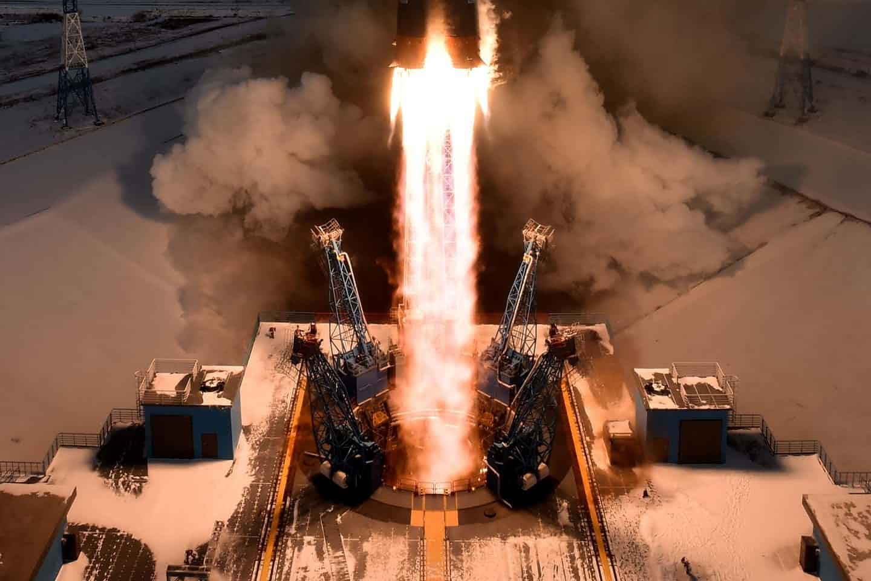 عکس روز: پرتاب موشک سویوز