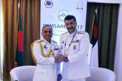 حضور فعال ایران در بزرگترین رزمایش امداد و نجات دریایی جهان