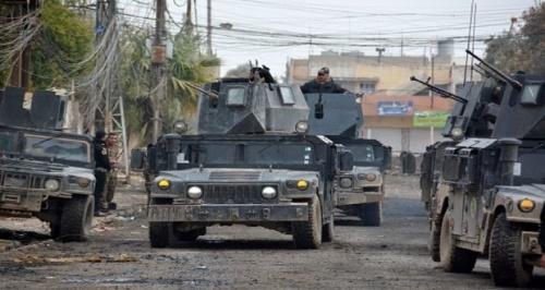 نیروهای عراقی محله غزه شهر القائم را از اشغال داعش آزاد کردند