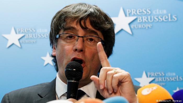 صدور حکم بازداشت برای رئیس سابق دولت کاتالونیا