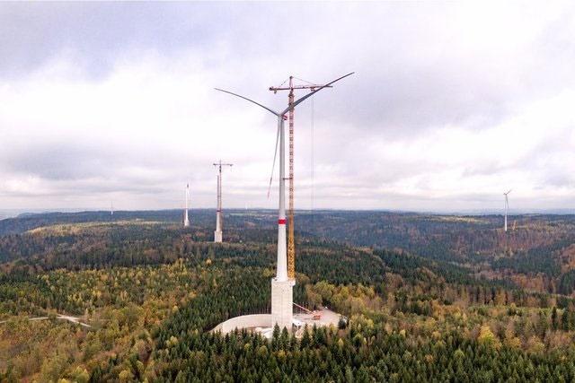 آغاز به کار بلندترین توربین جهان در آلمان