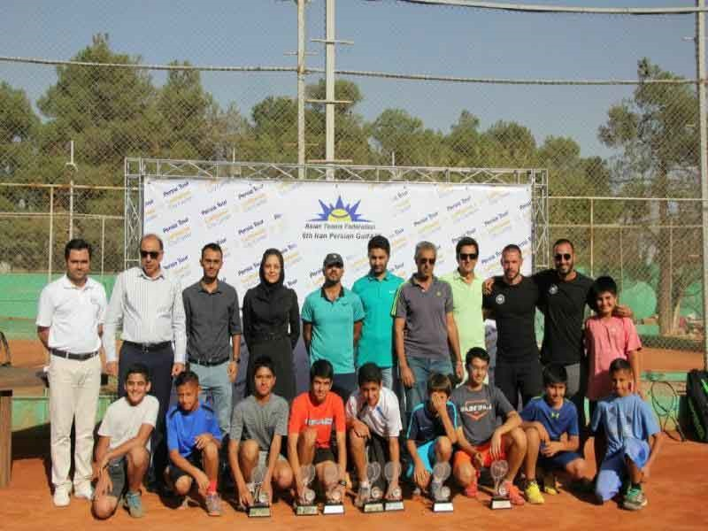 تور تنیس زیر ۱۴ سال آسیا؛ ونداد غیبی قهرمان شد