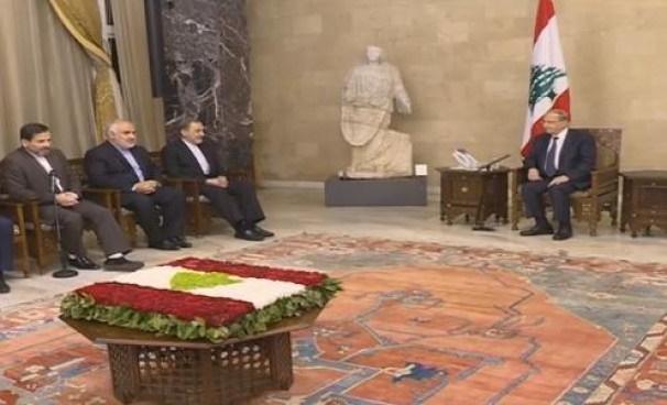 دیدار مشاور بین الملل رهبر معظم انقلاب با رئیس جمهور لبنان