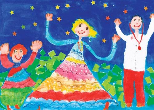 رنگها و آرزوهای کودکان بیمار