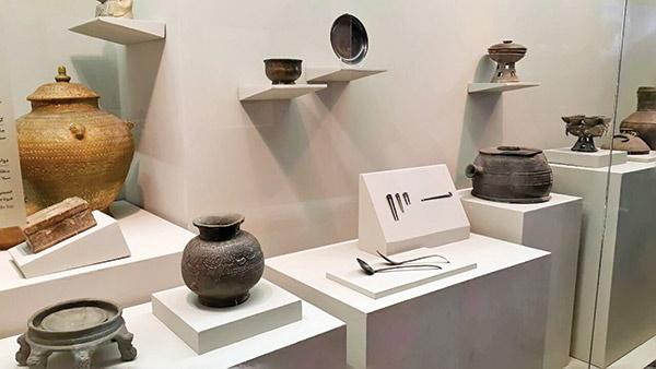 رونمایی از ۱۴۴شیء باستانی تمدن سیلا در موزه ملی ایران