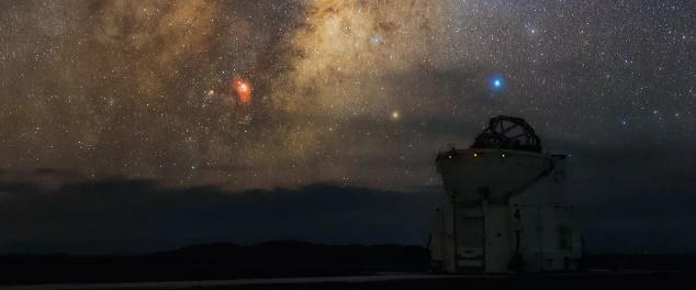 عکس روز: ستاره درخشان کژدمدل