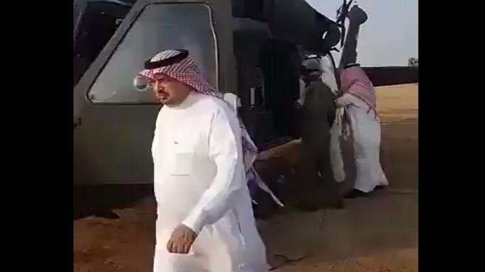 شاهزاده سعودی در سقوط بالگرد کشته شد