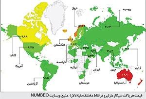 ایران؛ بهشت سیگاریها