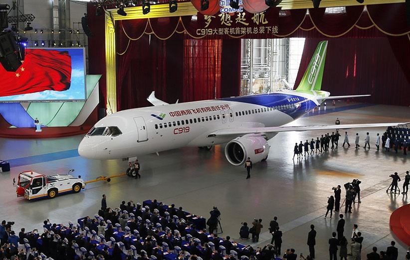 ۷۲۰ سفارش برای خرید هواپیمای سی ۹۱۹ ساخت چین
