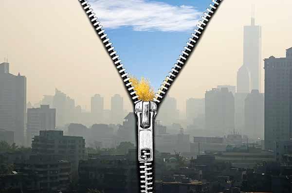 شکست آلودگی هوا با فناوری