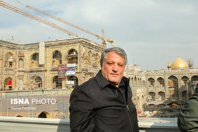 رئیس شورای شهر تهران: هدف از حضور مدیریت شهری در کربلا خدمترسانی است