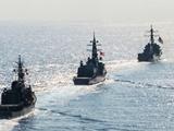 مانور نظامی دریایی آمریکا و ژاپن آغاز شد
