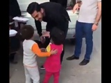 کودک زلزلهزده ایرانی محبوب دلها در فضای مجازی