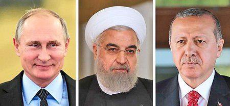توافق ایران، روسیه و ترکیه برای تداوم همکاریهای ضدتروریستی در سوریه