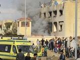 ۲۳۵ کشته و  ۱۰۹ زخمی   حمله تروریستی به یک مسجد در شمال مصر