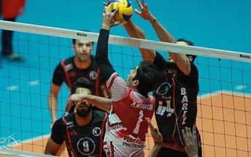 نتایج هفته هفتم لیگ برتر والیبال مردان ایران