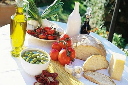 تغذیه,بلوبری,رژیم غذایی مدیترانهای,هند,زنجبیل,آرتروز,چای سبز,انار,زردچوبه,روغن زیتون,بیماری