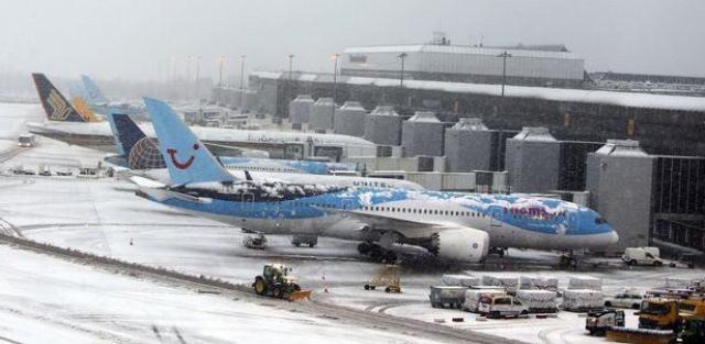 بارش برف در انگلیس و بروز هرجومرج در سیستم حملونقل