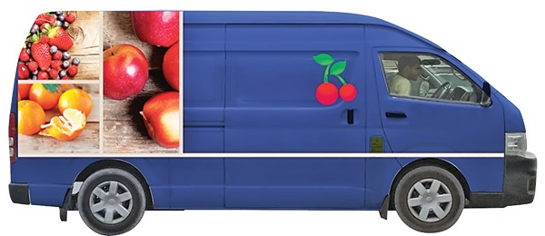 مغازه میوه فروشی مجازی
