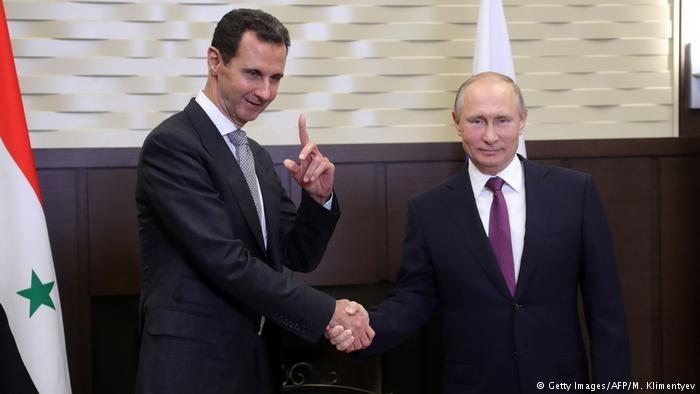 دیدار پوتین با بشار اسد در سوریه |  دستور خروج نیروهای روسی از سوریه صادر شد