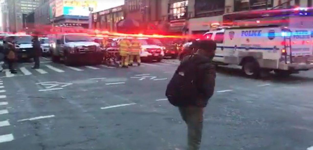 انفجار در منهتن نیویورک