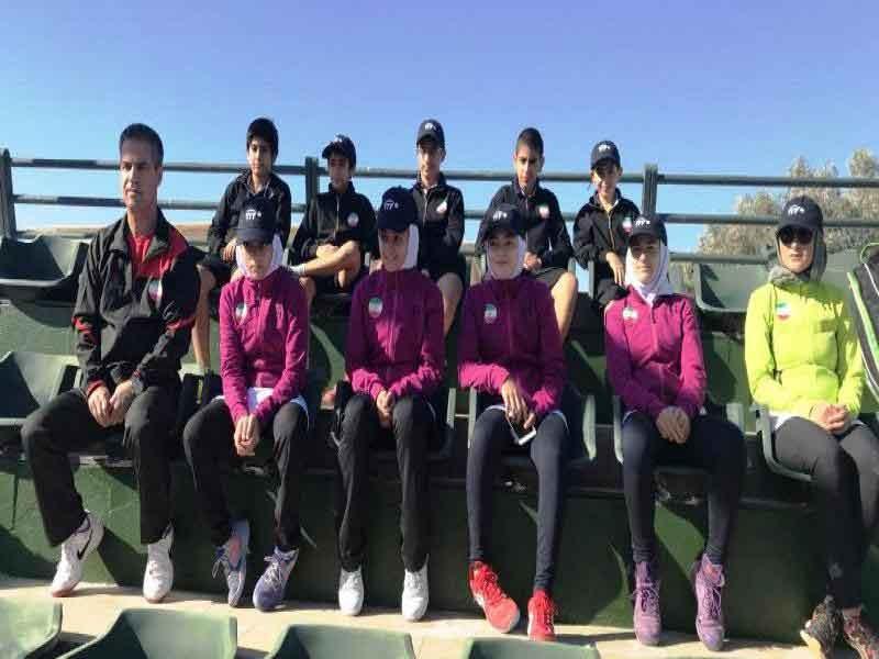 تنیس زیر ۱۳ سال غرب آسیا؛ پایان کار نمایندگان کشورمان با پیروزی در تمام دیدارها