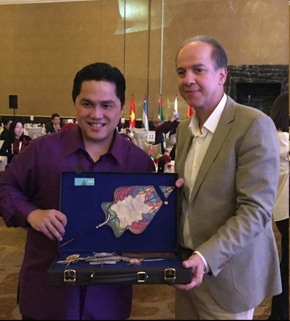 دعوت رسمی اندونزی از ایران برای حضور در بازیهای آسیایی ۲۰۱۸