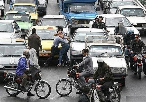 تهران خشن؛ ۵۰۰ هزار پرونده نزاع خیابانی در سال ۹۵