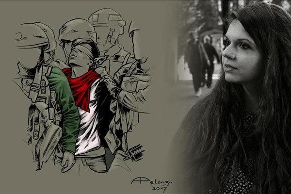 نقاش ایتالیایی | در روزهای سخت مردم فلسطین را تنها نگذاریم