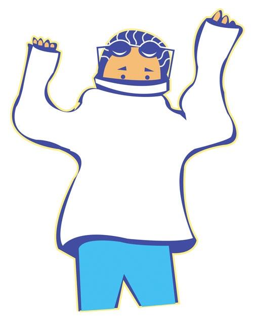 مدیریت لباسهای گرم!