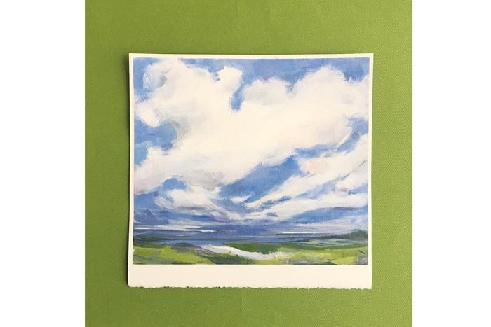 نقاش ابرها!