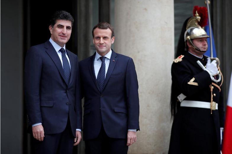 رئیس جمهور فرانسه خواستار انحلال بسیج مردمی عراق شد