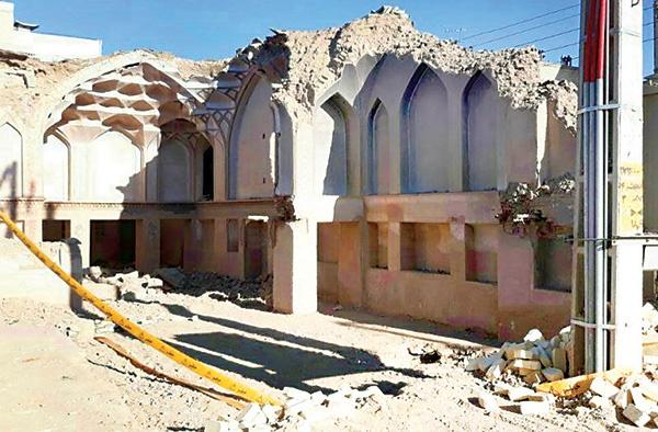 آغاز بازسازی خانه تاریخی نایل