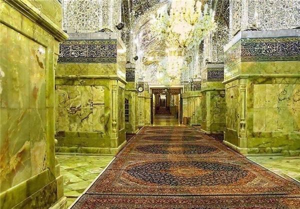 ۸۱ فرش دستباف در حرم امامین کاظمین رونمایی شد
