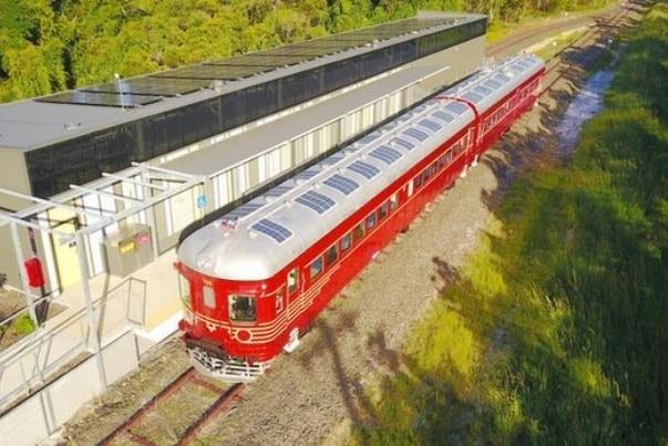آغاز به کار قطار خورشیدی در استرالیا